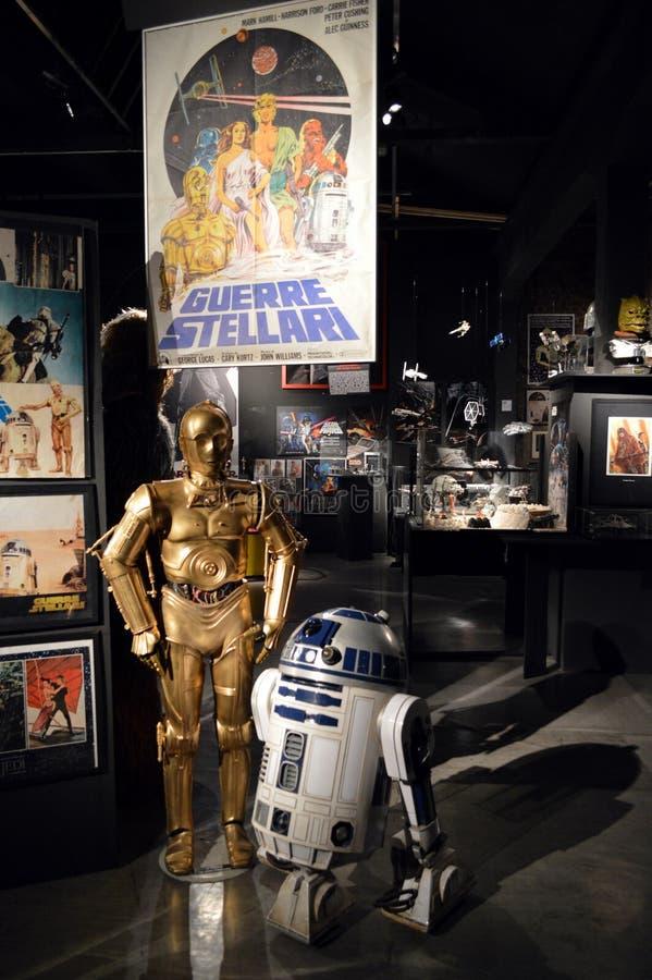 Звездные войны Droids стоковые изображения rf
