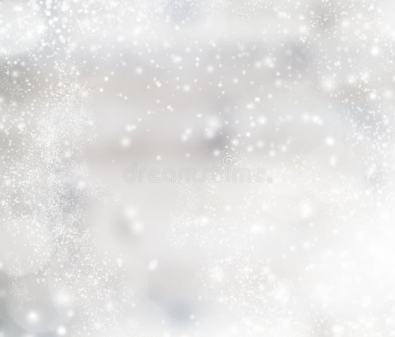звезды абстрактной картины конструкции украшения рождества предпосылки темной красные белые иллюстрация вектора