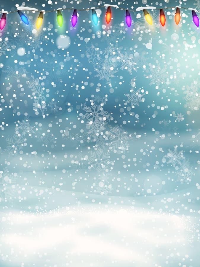 звезды абстрактной картины конструкции украшения рождества предпосылки темной красные белые 10 eps иллюстрация вектора