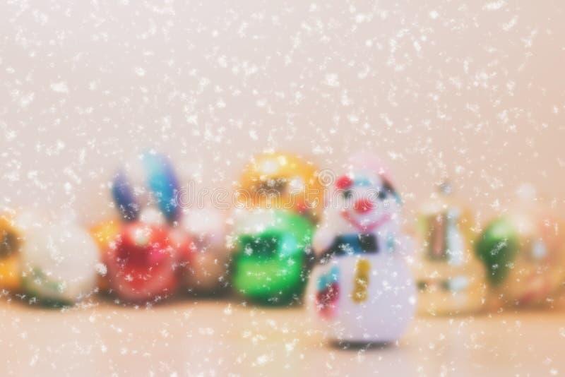 звезды абстрактной картины конструкции украшения рождества предпосылки темной красные белые Изображение влияния нерезкости стоковые фотографии rf