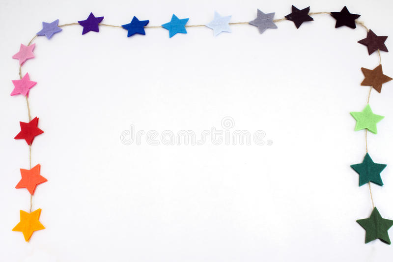 Звезды войлока стоковое фото