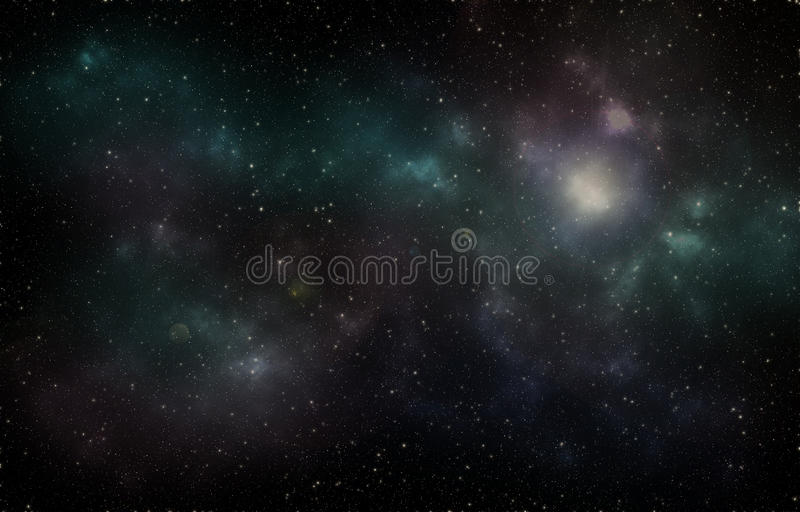 Звезды вселенной глубокого космоса стоковая фотография