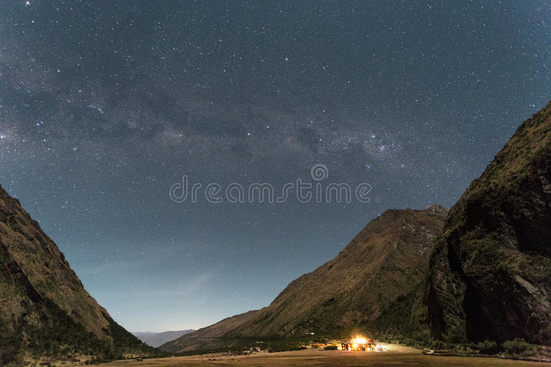 Звезды на лагере 1 стоковые изображения rf