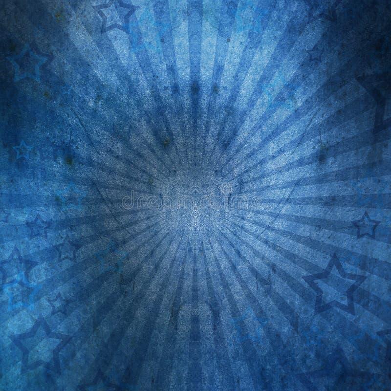 Звезды на винтажной стене grunge стоковое изображение