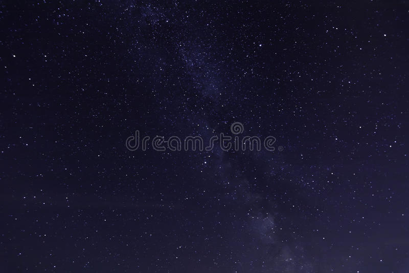 звезды ночного неба стоковые изображения