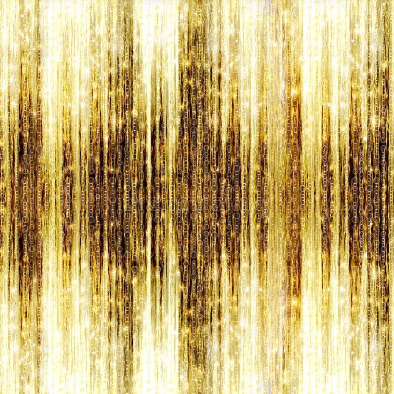 Звезды стрельбы золота на абстрактной предпосылке бесплатная иллюстрация