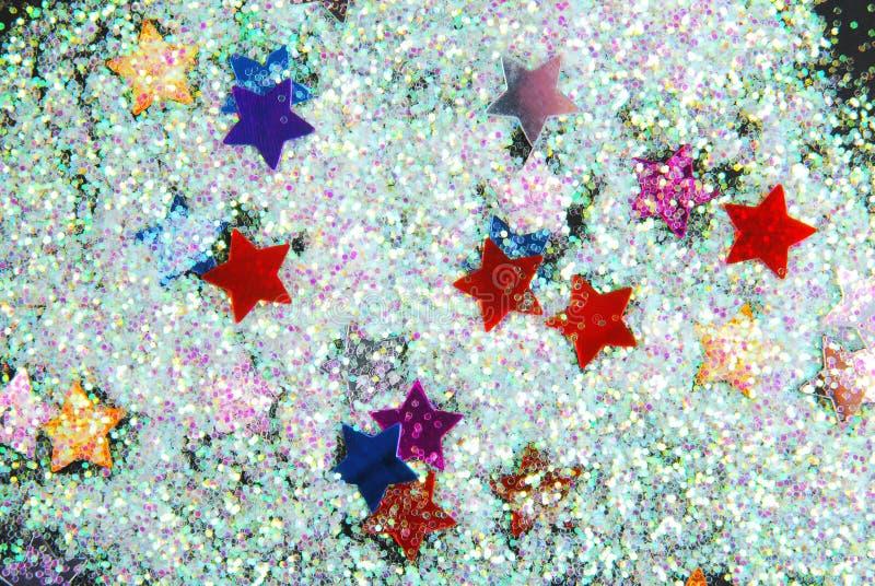Звезды с ярким блеском стоковые изображения
