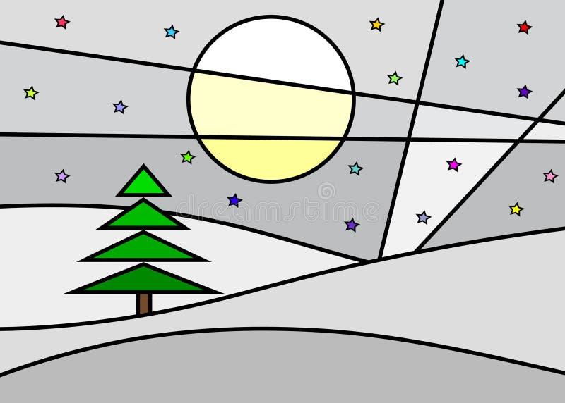 звезды луны бесплатная иллюстрация