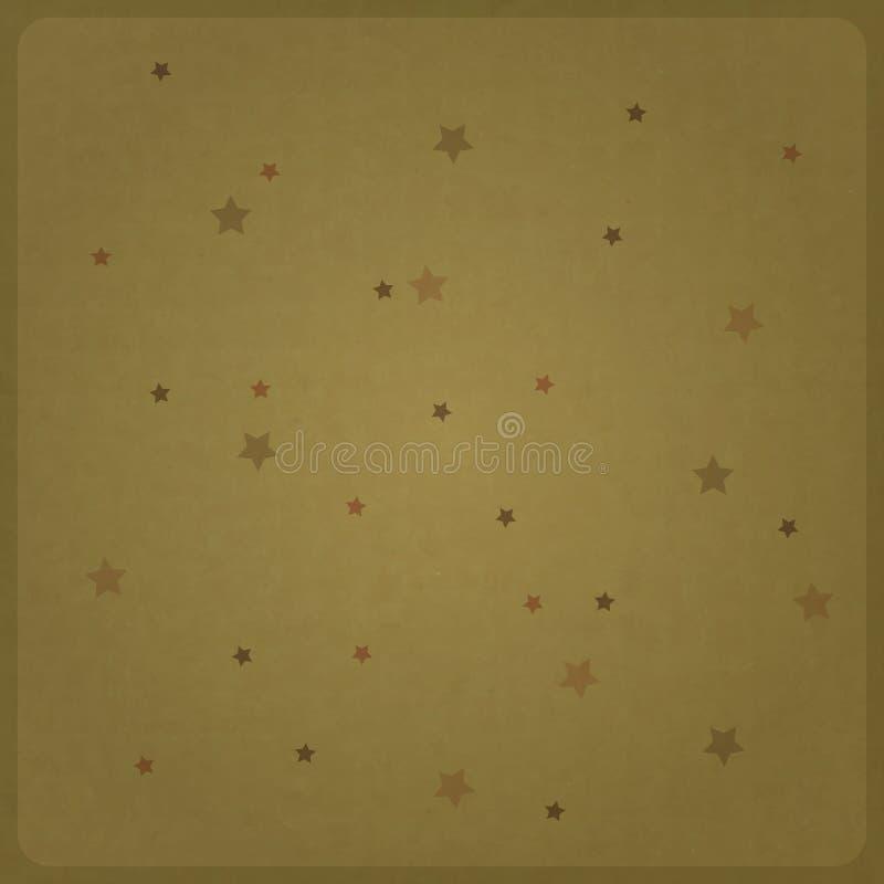 Звезды шаржа иллюстрация вектора