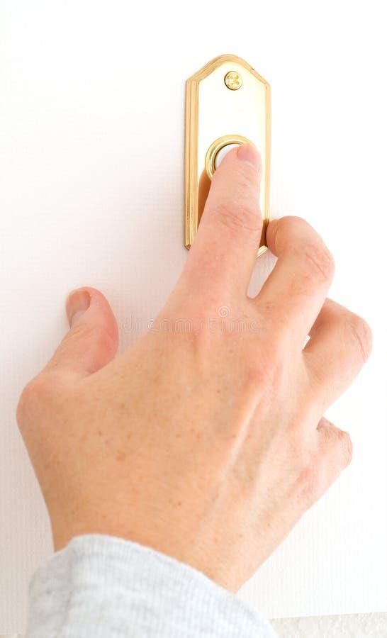 звенеть дверного звонока стоковые фото