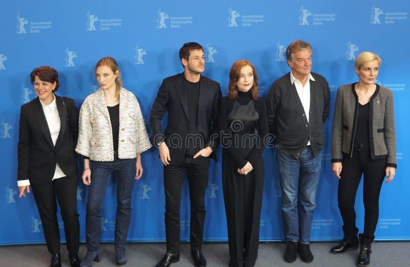 Звонок фото ` Ева ` во время 68th Berlinale 2018 стоковое изображение rf
