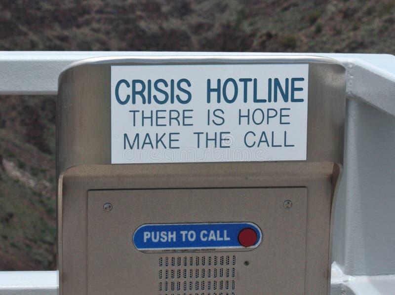 Звонок для помощи стоковая фотография rf