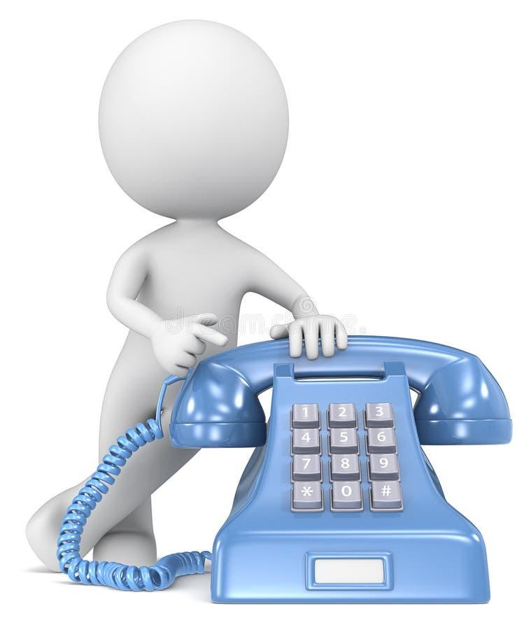 Звонок. иллюстрация вектора