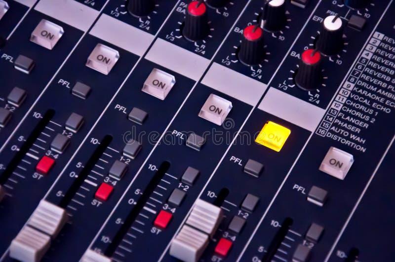Звуковая система дальше стоковое изображение rf