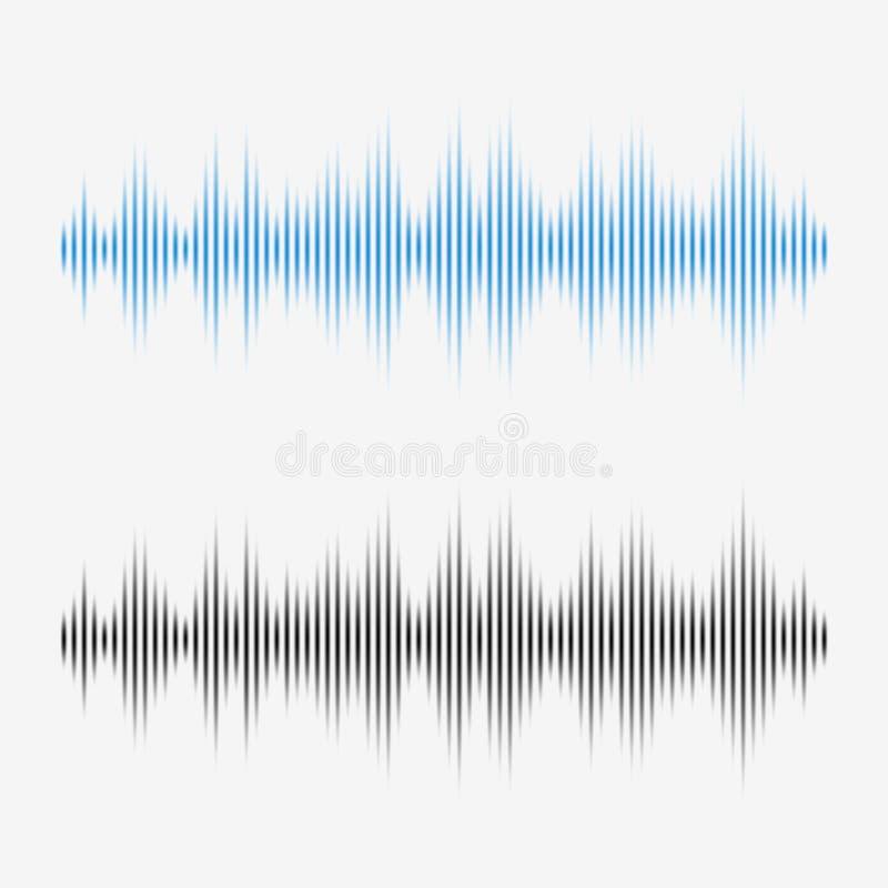 Звуковые войны вектора Выравниватель цифров музыки иллюстрация вектора