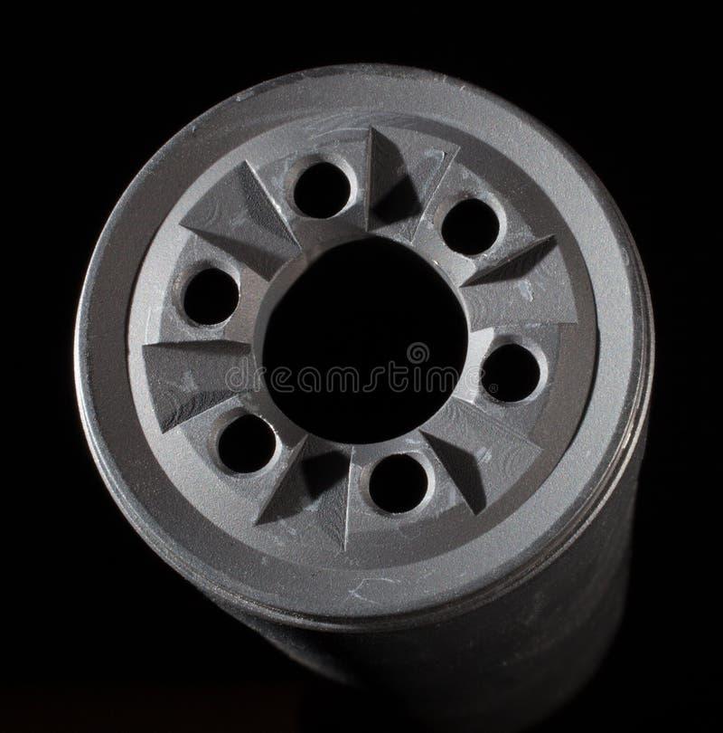 Download звукоглушитель стоковое фото. изображение насчитывающей серо - 41661448
