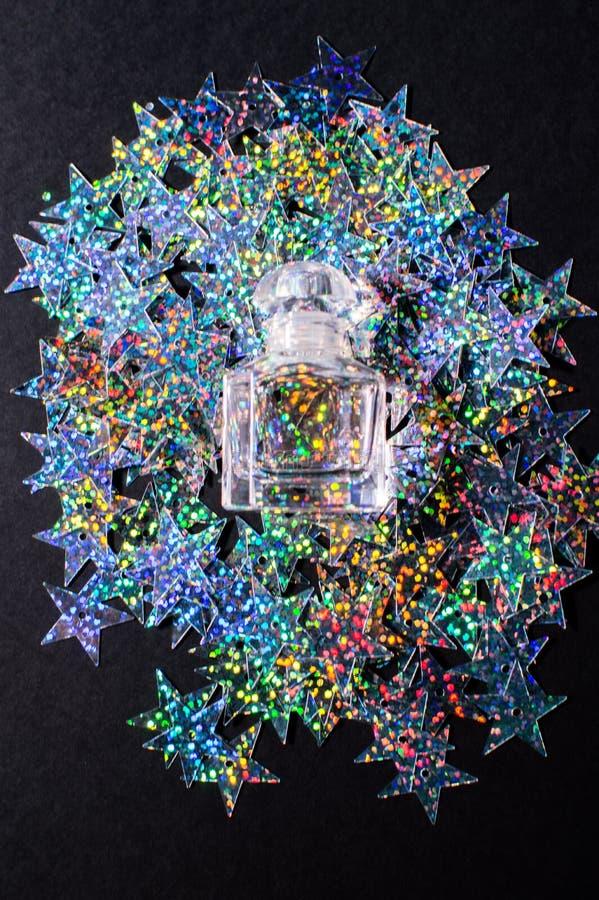 звёздная волшебная бутылка стоковые изображения rf
