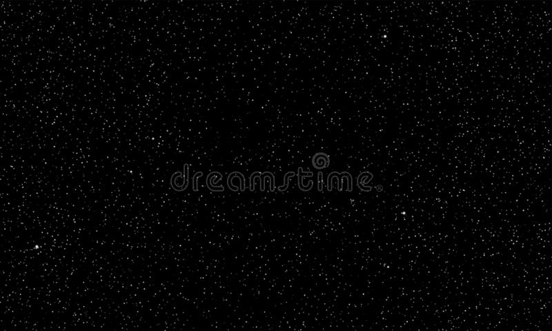 Звёздная предпосылка космоса блеска звезд вектора неба иллюстрация вектора
