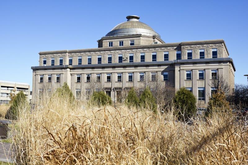 здание администрации gary стоковое изображение