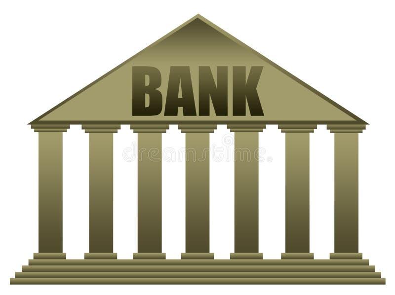 Здание банка иллюстрация штока