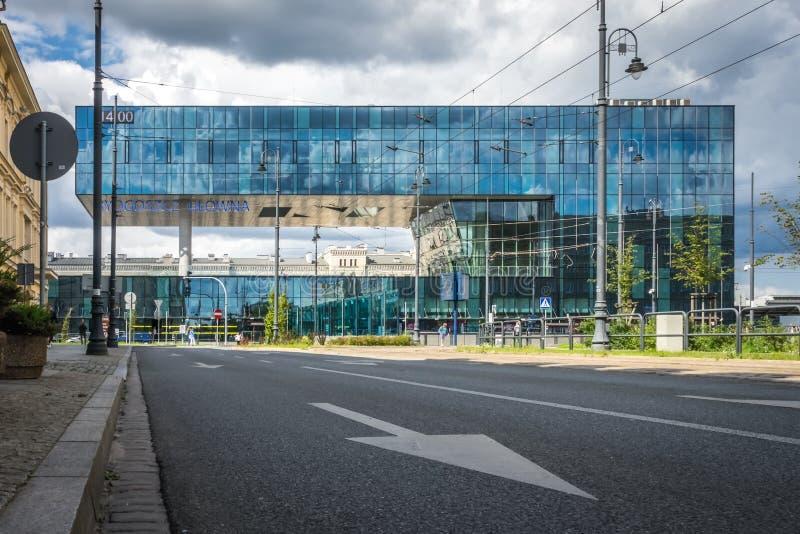 Здание вокзала Bydgoszcz Glowna стоковое фото