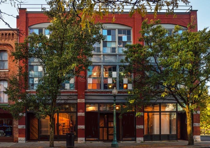 Здание города Арцы стоковая фотография rf