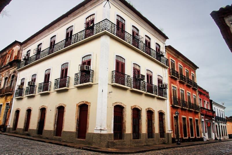 здание делает исторический sao maranhao luis стоковая фотография