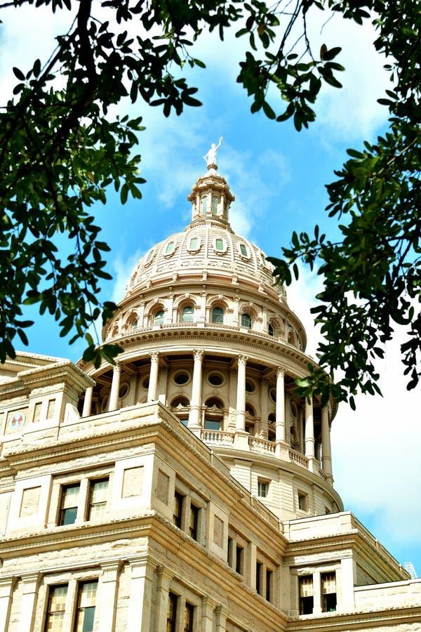Здание капитолия государства Техаса стоковое изображение