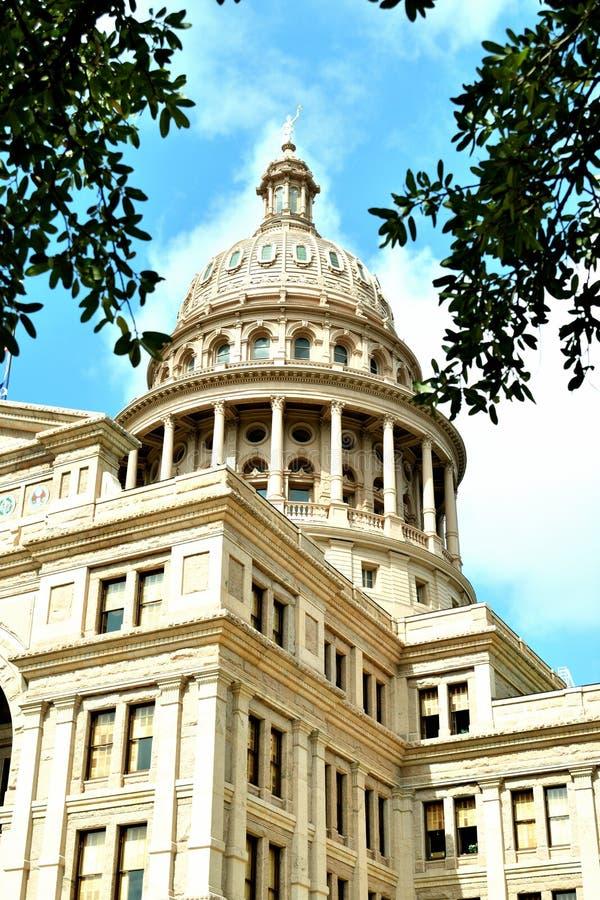 Здание капитолия государства Техаса стоковое изображение rf