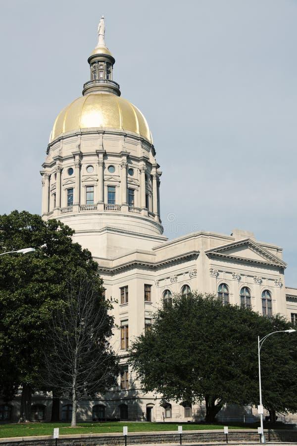 Здание капитолия положения в Атлант стоковое изображение rf