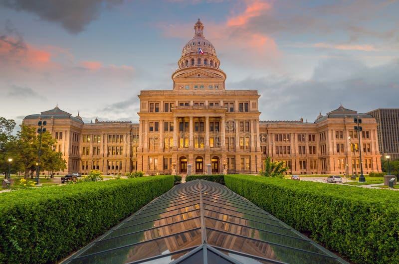 Здание капитолия положения Техаса в Остине, TX стоковое фото