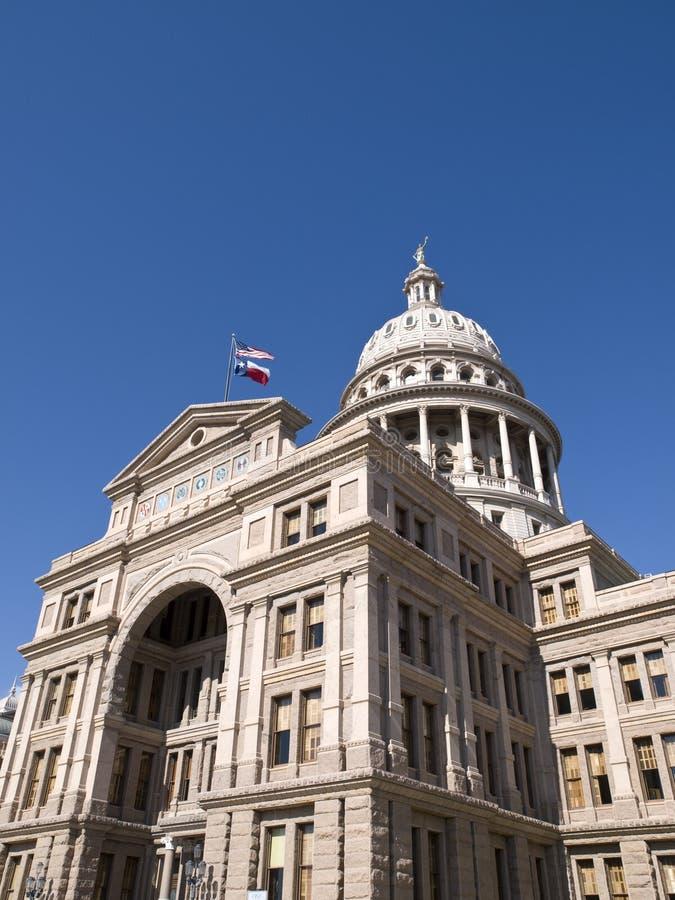 Здание капитолия положения Техас стоковые изображения rf