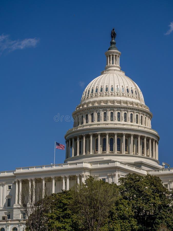 Здание капитолия Соединенных Штатов - Вашингтон d C , США стоковые изображения rf