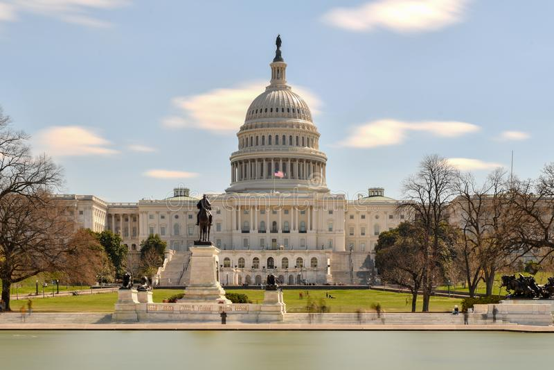 Здание капитолия США - Вашингтон, DC стоковая фотография