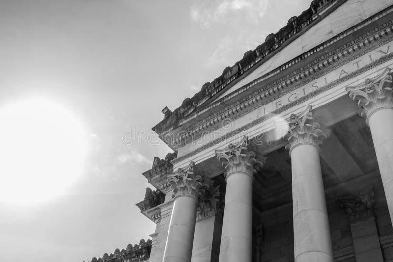 Здание капитолия штата Вашингтона большое в Олимпии, Вашингтоне стоковое фото