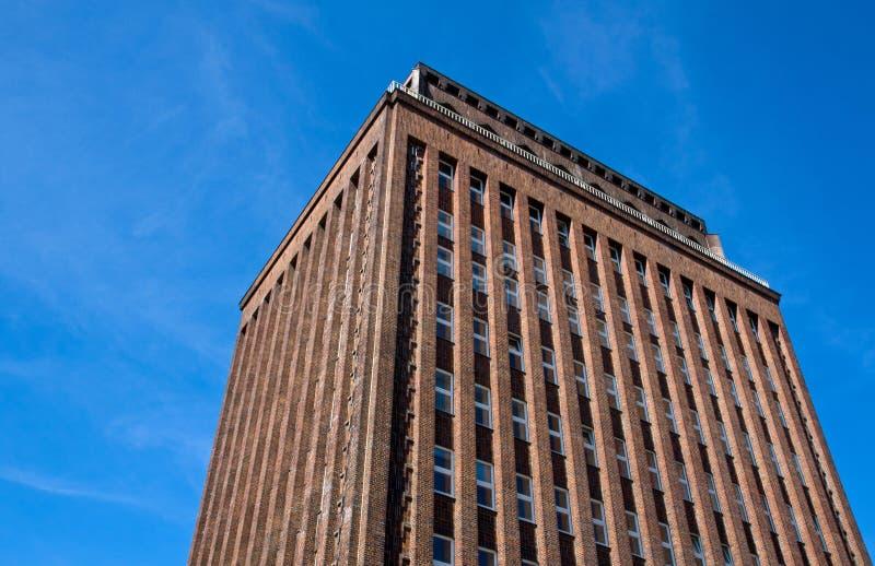 здание кирпича berlin старое стоковое изображение rf