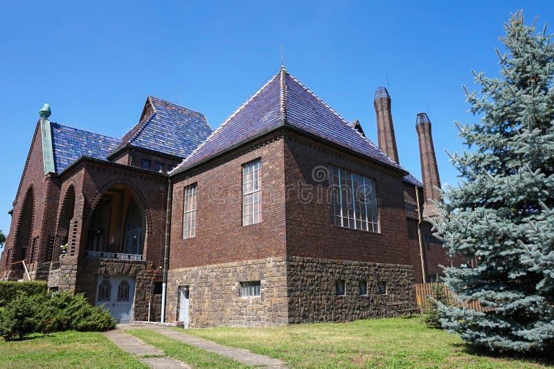 Здание крематорий стоковое изображение rf