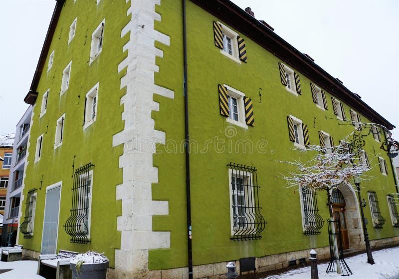 Здание музея на Дунае в tuttlingen стоковые фото