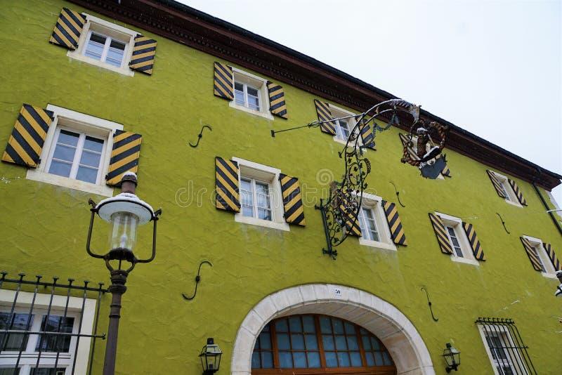 Здание музея на Дунае в tuttlingen стоковое изображение