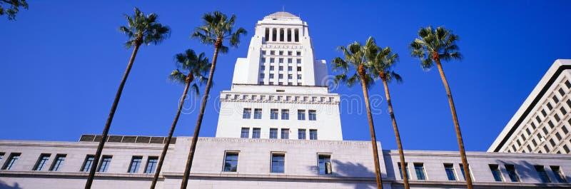 Здание муниципалитет в Los Angeles стоковое изображение rf
