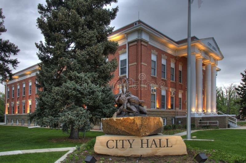 здание муниципалитет стоковая фотография