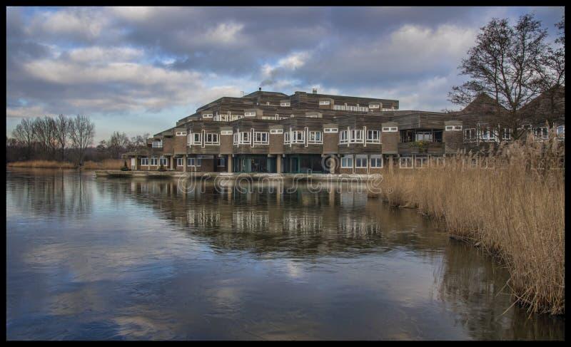 здание муниципалитет amstelveen стоковое фото rf
