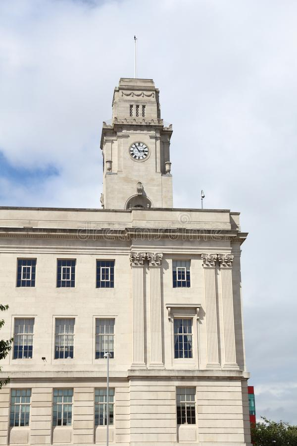 Здание муниципалитет Barnsley стоковая фотография rf