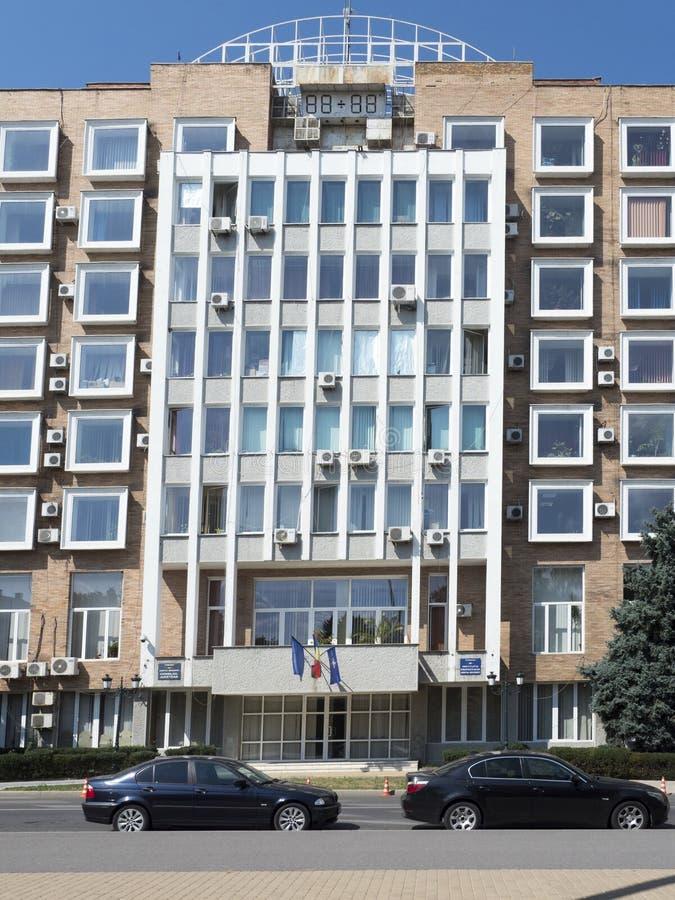 Здание муниципалитет Drobeta-Turnu Severin, Румыния стоковые изображения rf