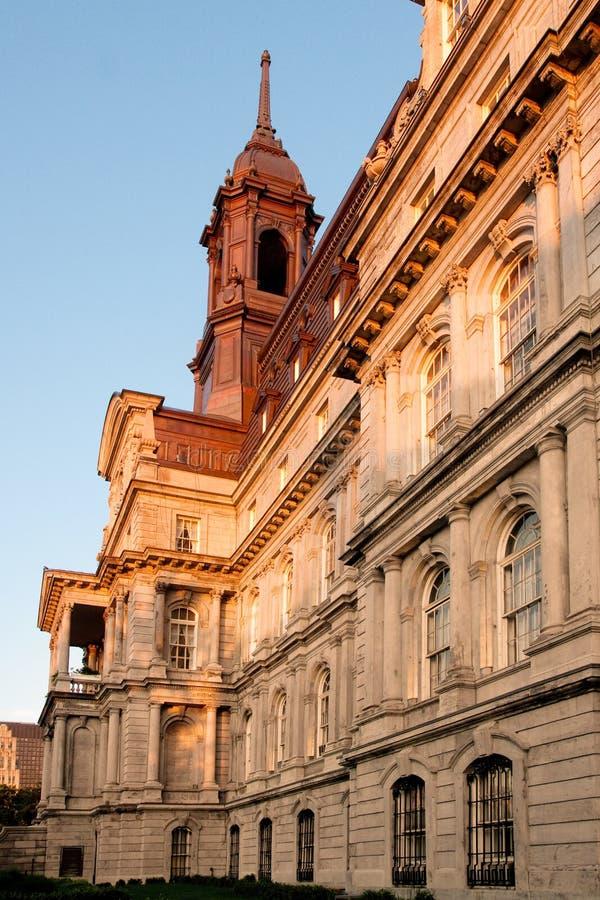 здание муниципалитет montreal стоковые изображения
