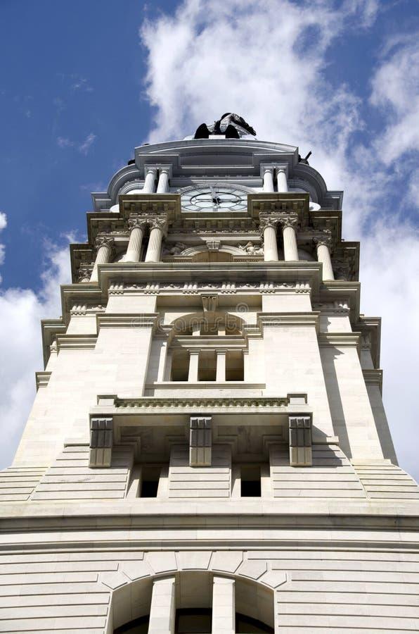 здание муниципалитет philadelphia стоковые фото