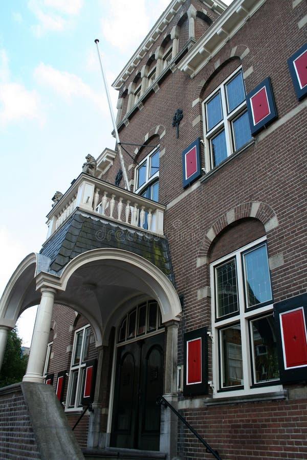 Здание муниципалитет Veendam стоковые изображения rf