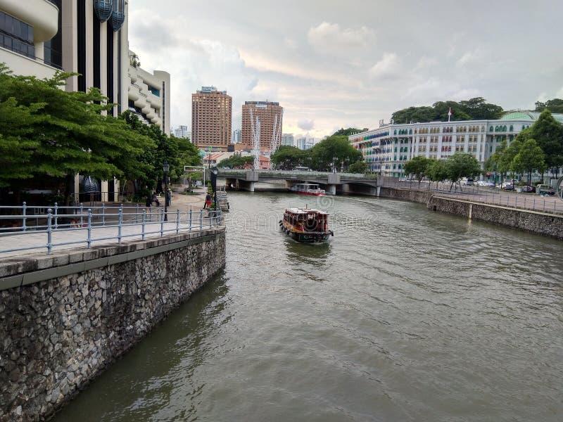 Здание наследия набережной River_Of_singapore Clark стоковая фотография rf