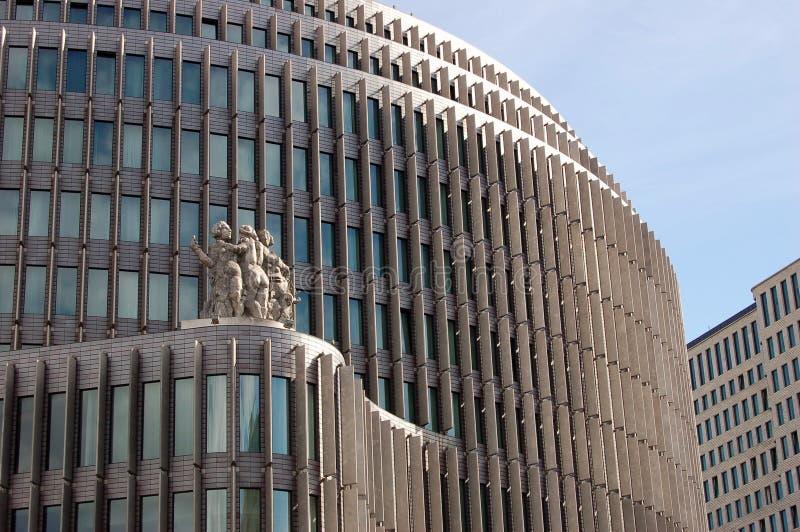 Здание на Kurfurstendamm, Берлин стоковые фото