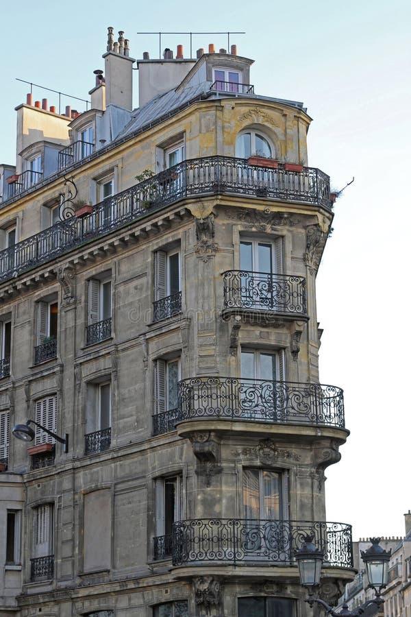 Здание Парижа стоковая фотография rf